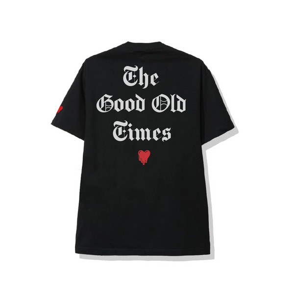 Good Old Times Black Tee