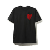 Heart Flag Black Tee