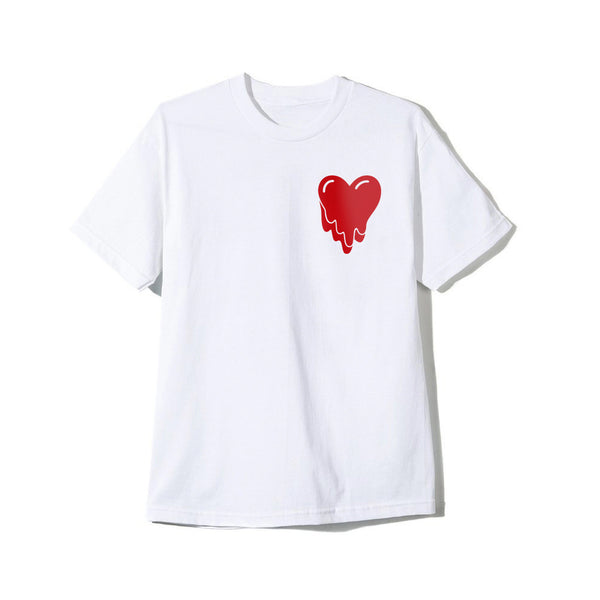 Heart Flag White Tee