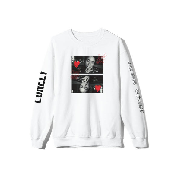 Lonely Some Ware White Crewneck