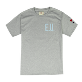 EU WORDMARK TEE- BLUE