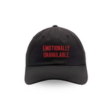 Emotionally Unavailable Black Cap