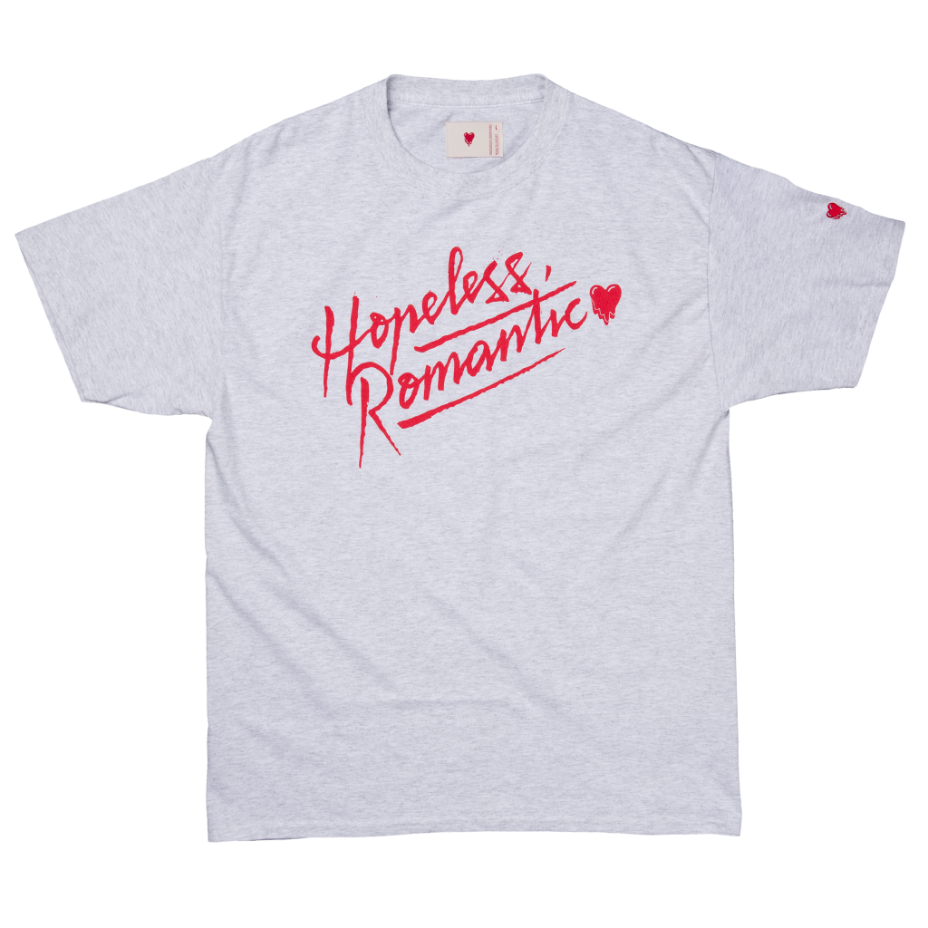 HOPELESS ROMANTIC ANDRE TEE - GRAY