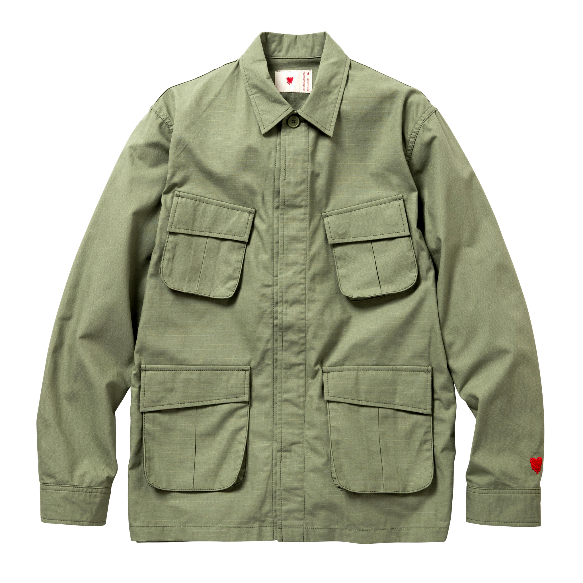 Field Jacket - Ripstop, Green