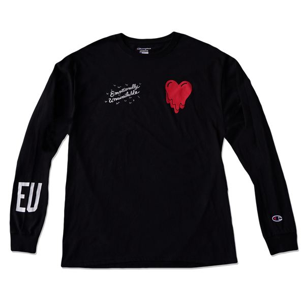 EU LONG SLEEVE - BLACK