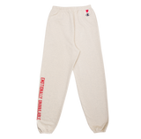 WORDMARK LOGO SWEATPANT - CREAM