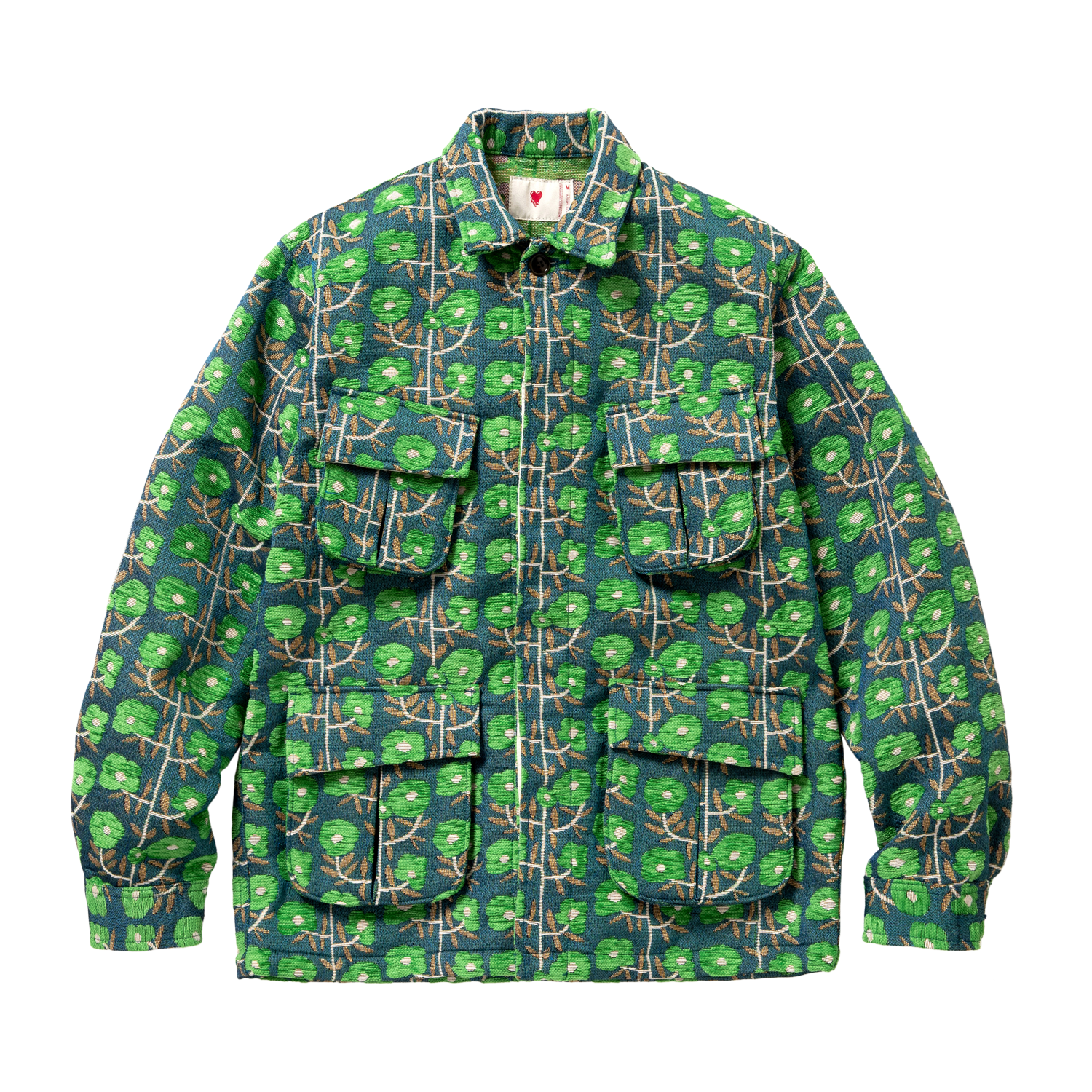 Field Jacket - Gobelin, Green
