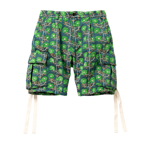 6 Pocket Shorts, Green