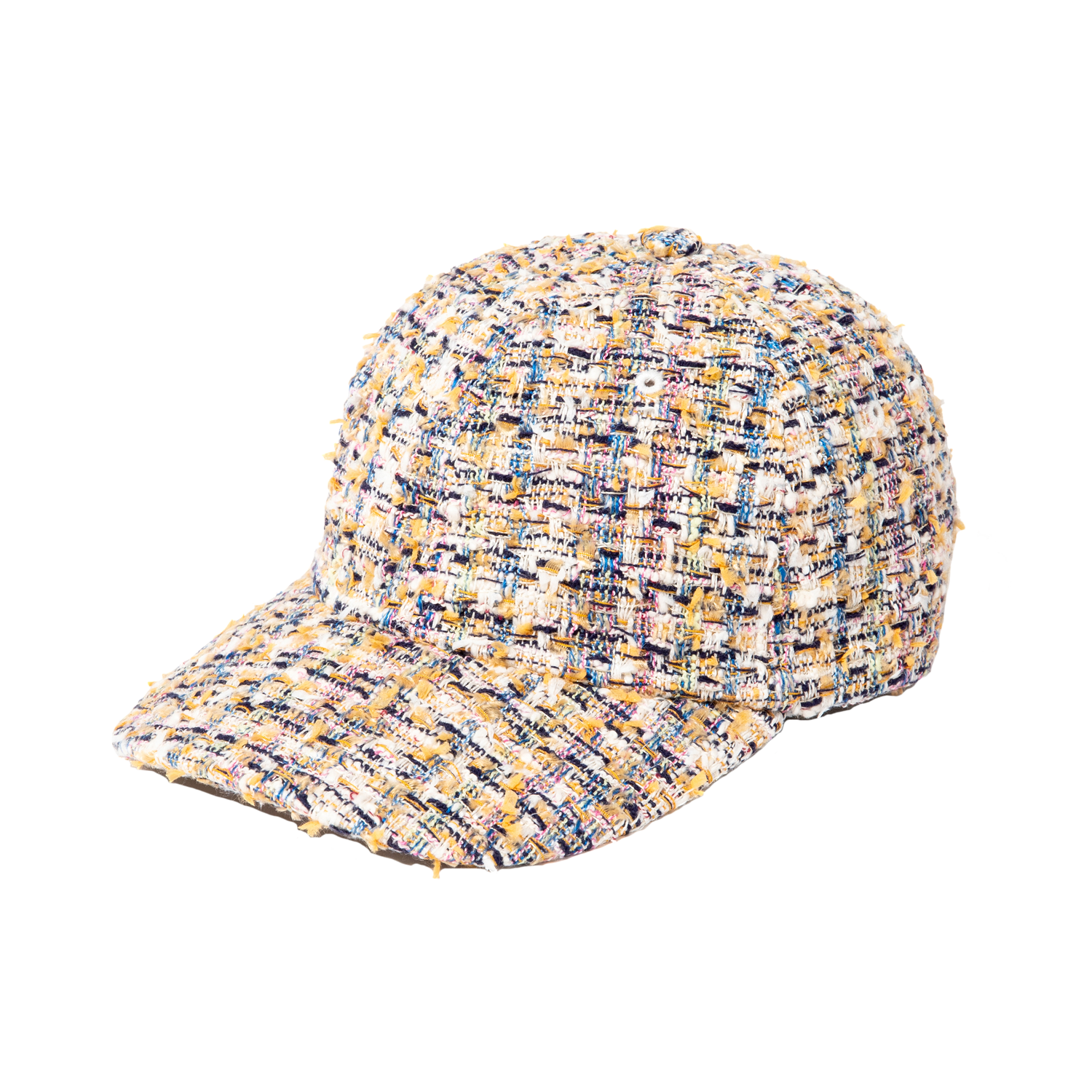 Cap - Fancy Tweed, Yellow