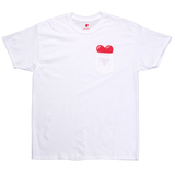 Heart Logo Pocket T-Shirt