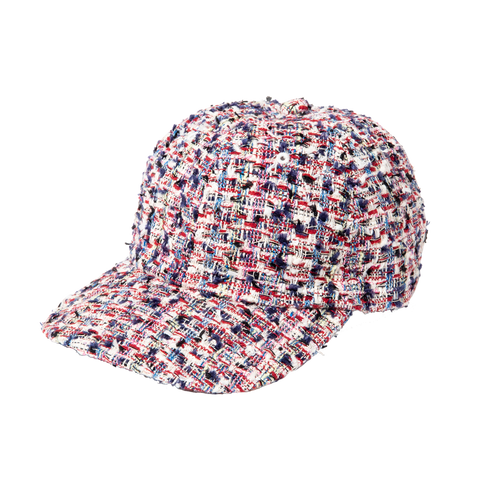 Cap - Fancy Tweed, Red