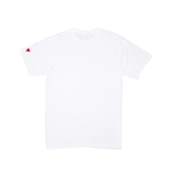 Tongue Tee, White