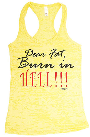 Dear Fat, Burn in Hell!