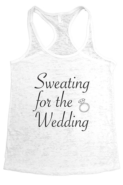 Sweating for the Wedding-Funny Running Shirts