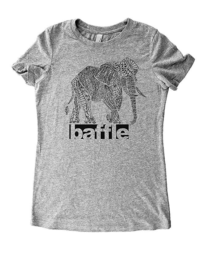 Elephant Art Graphic T-Shirt