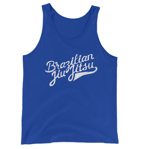 Brazilian Jiu Jitsu / Hand Drawn Graphic / Unisex  Tank Top
