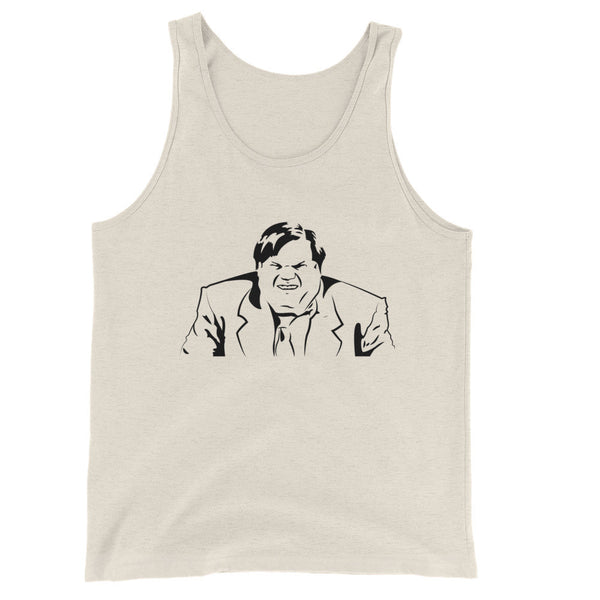 Chris Farley Inspired / Unisex Tank Top