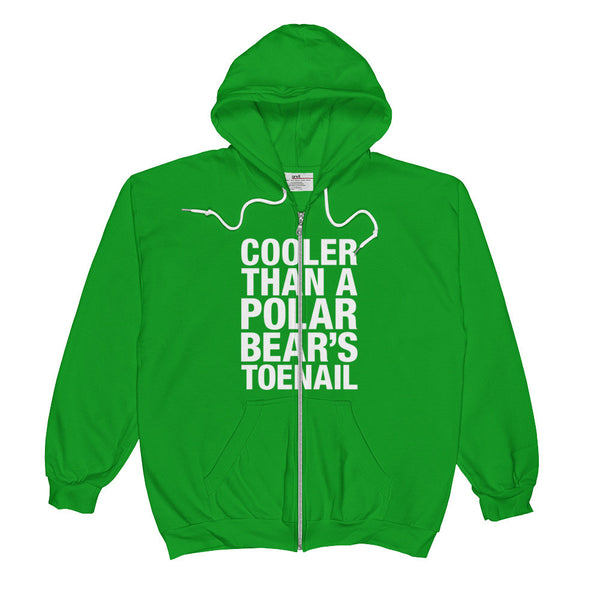 Polar Bear's Toenail / Outkast Inspired Clothing / Unisex Zip Hoodie