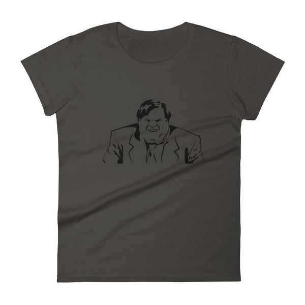 Chris Farley Tribute Illustration / Women's short sleeve t-shirt