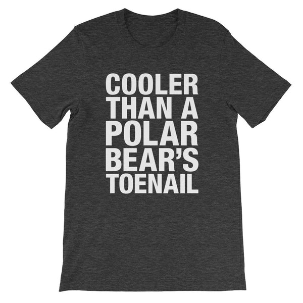 Cooler Than a Polar Bear's Toenail's / Outkast Inspired / Unisex short sleeve t-shirt
