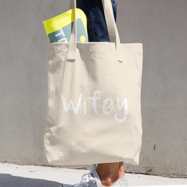 Wifey / Cotton Tote Bag