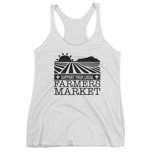 SUPPORT YOUR LOCAL FARMER'S MARKET / Women's tank top