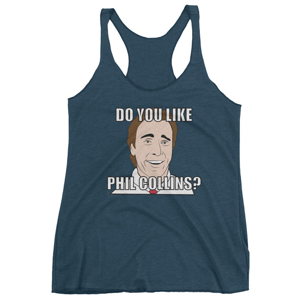 DO YOU LIKE PHIL COLLINS? / Women's tank top