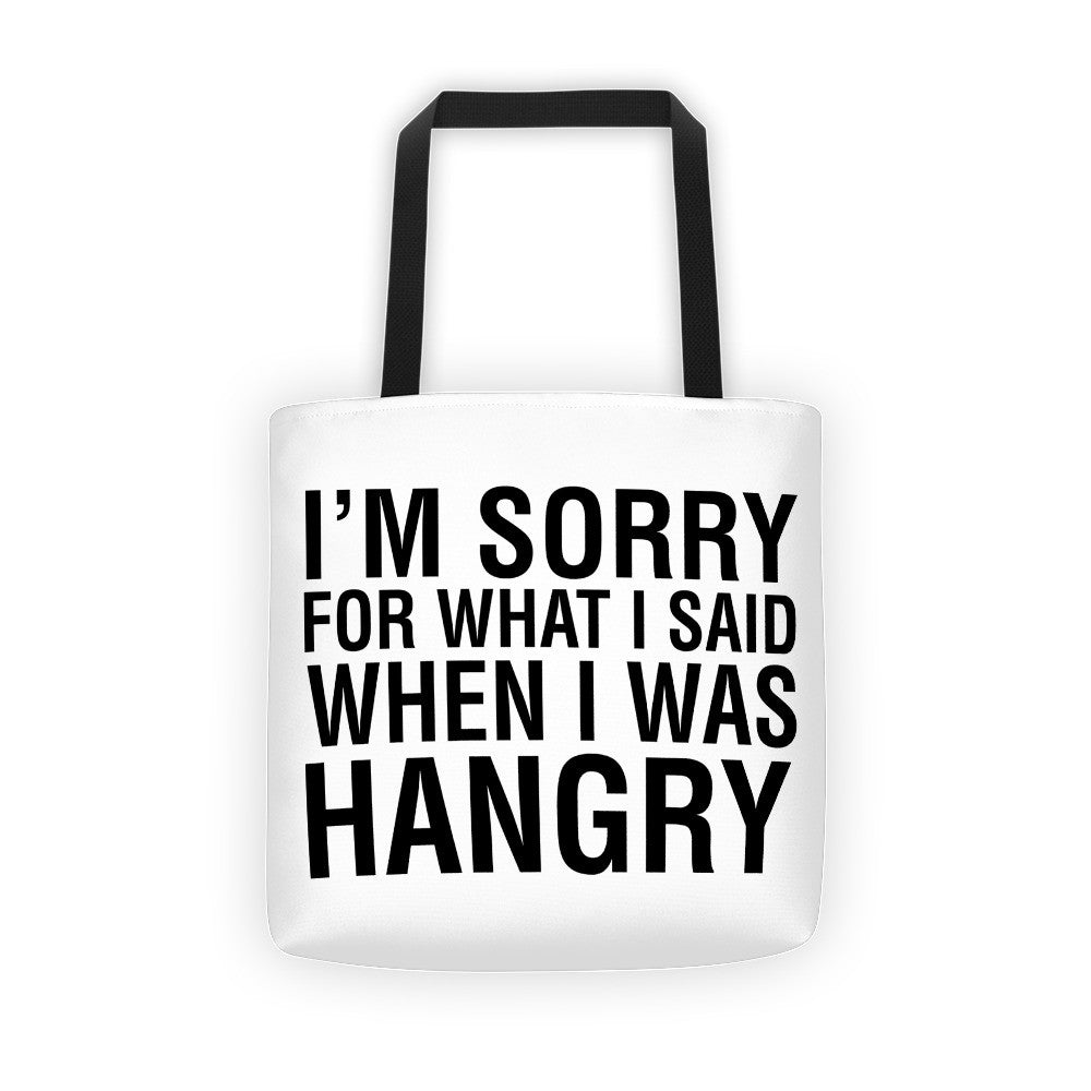 HANGRY / Tote bag