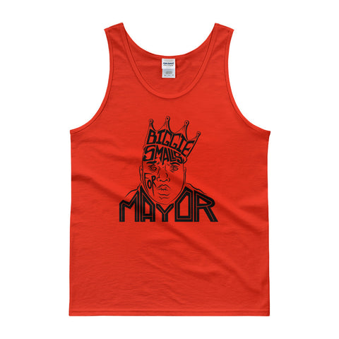 Biggie Smalls for Mayor Tank top - Hand Drawn