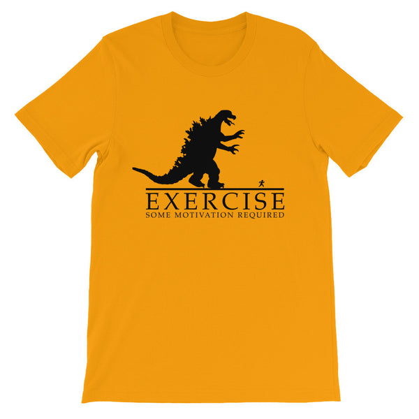 Excersize: Some Motivation Required / Funny Unisex short sleeve t-shirt