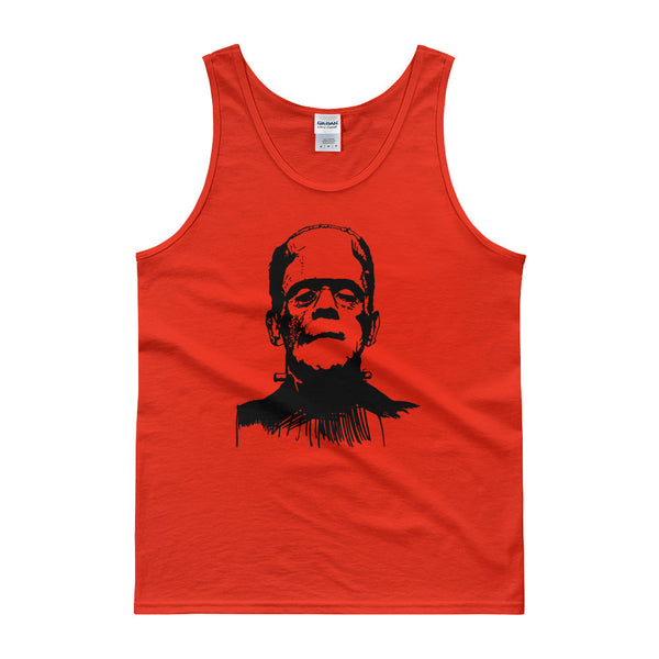 Frankensein Stencil / Men's Tank top