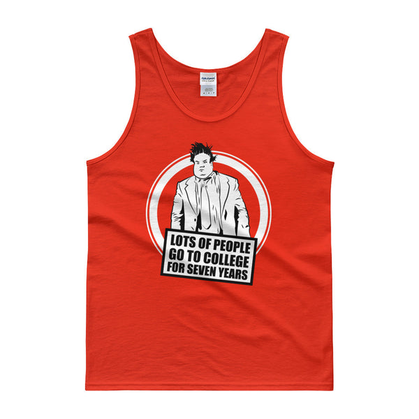 7 Year College / Chris Farley Illustration / Tank top