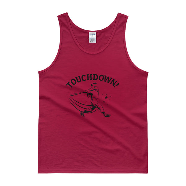 Touchdown!!! Sarcastic Sports Tank top