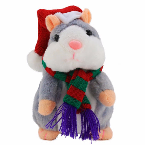 "'Exclusive"" Talking Christmas Hamster"