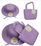 Girls Tea Party Hat and Purse Set