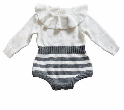Striped Wool Romper