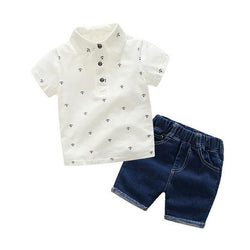 Anchor Shirts+Shorts 2PCS,