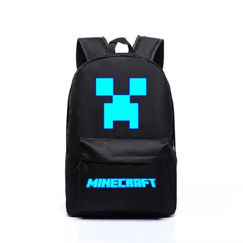 Glowing Minecraft Backpack