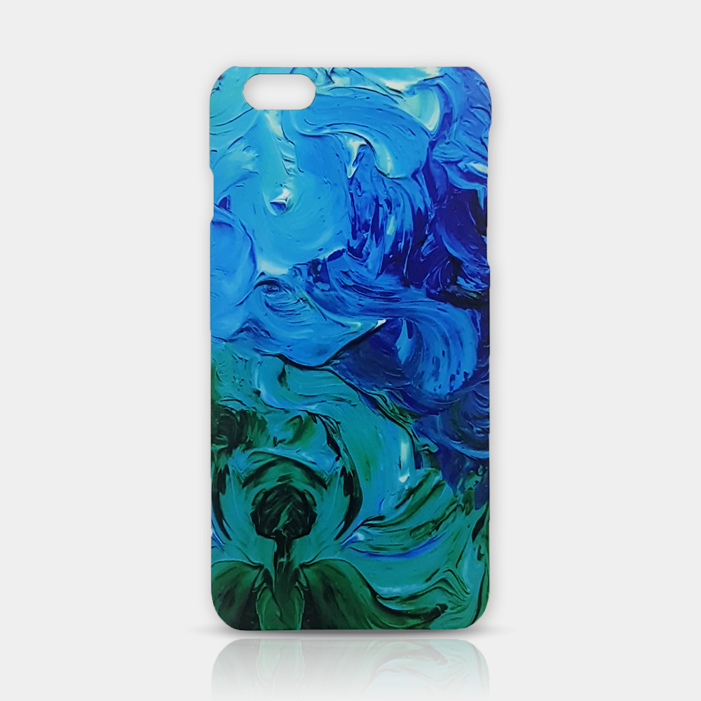 Abstract Flower Slim iPhone 6/6S Plus Case - iKaracase