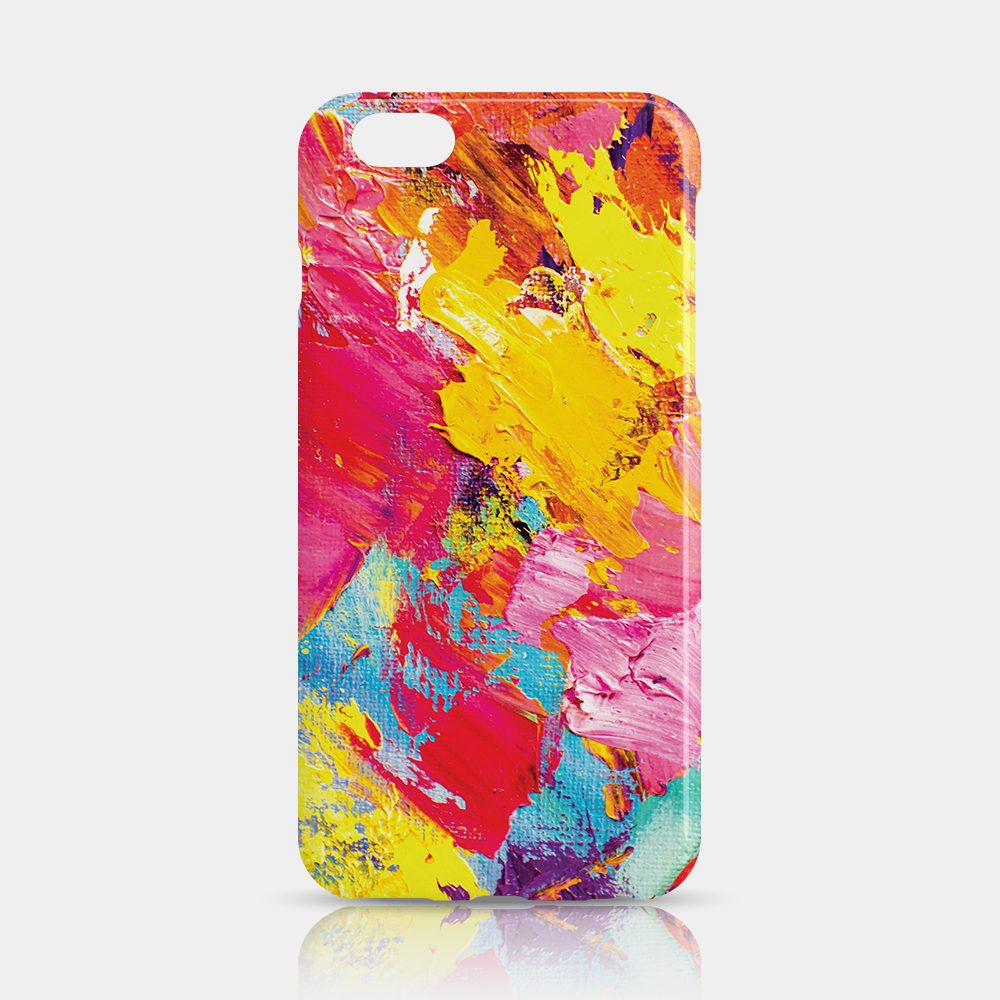 Abstract Slim iPhone 6/6S Plus Case - iKaracase