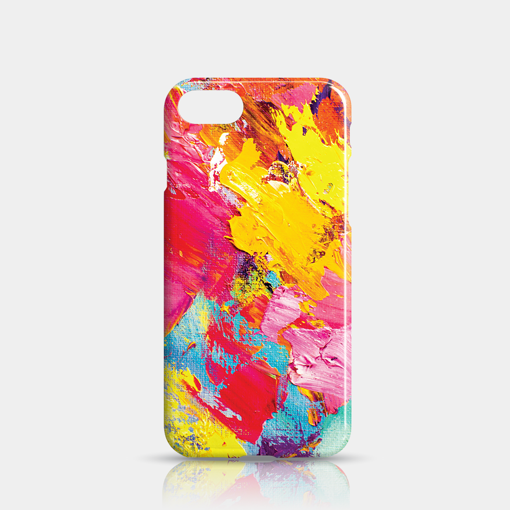 Abstract Slim iPhone 7/8 Case - iKaracase