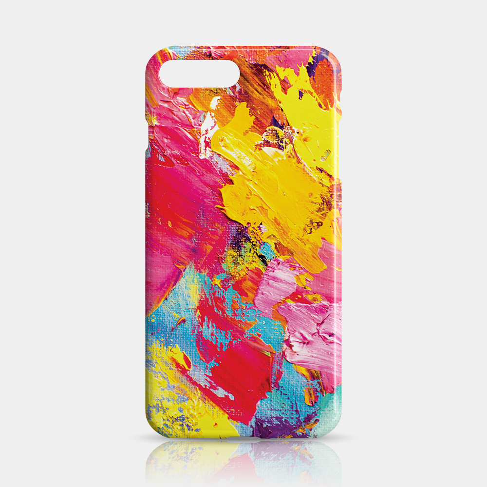Abstract Slim iPhone 7/8 Plus Case - iKaracase