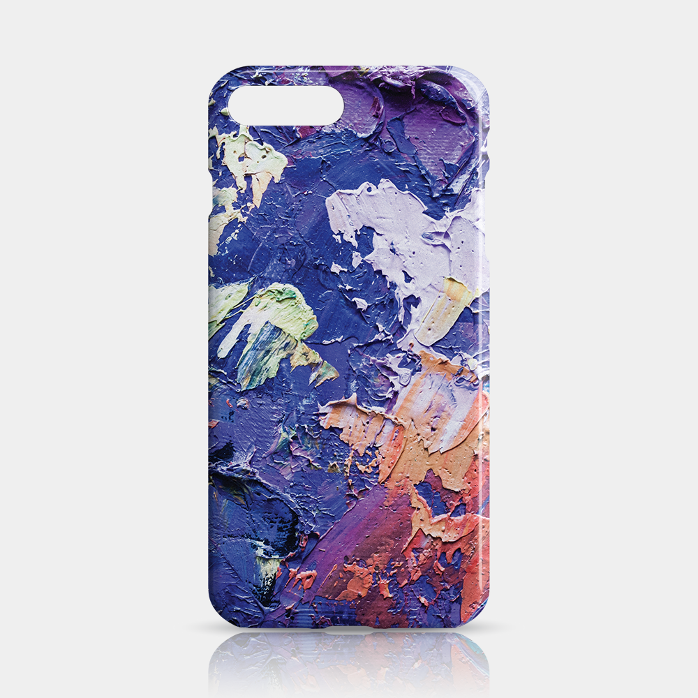 Oil Paint Slim iPhone 7/8 Plus Case - iKaracase