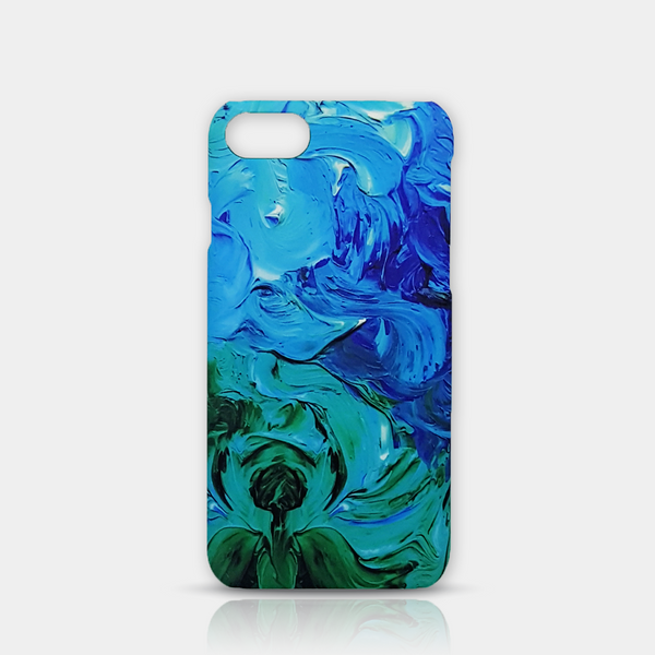 Abstract Flower Slim iPhone 7/8 Case - iKaracase