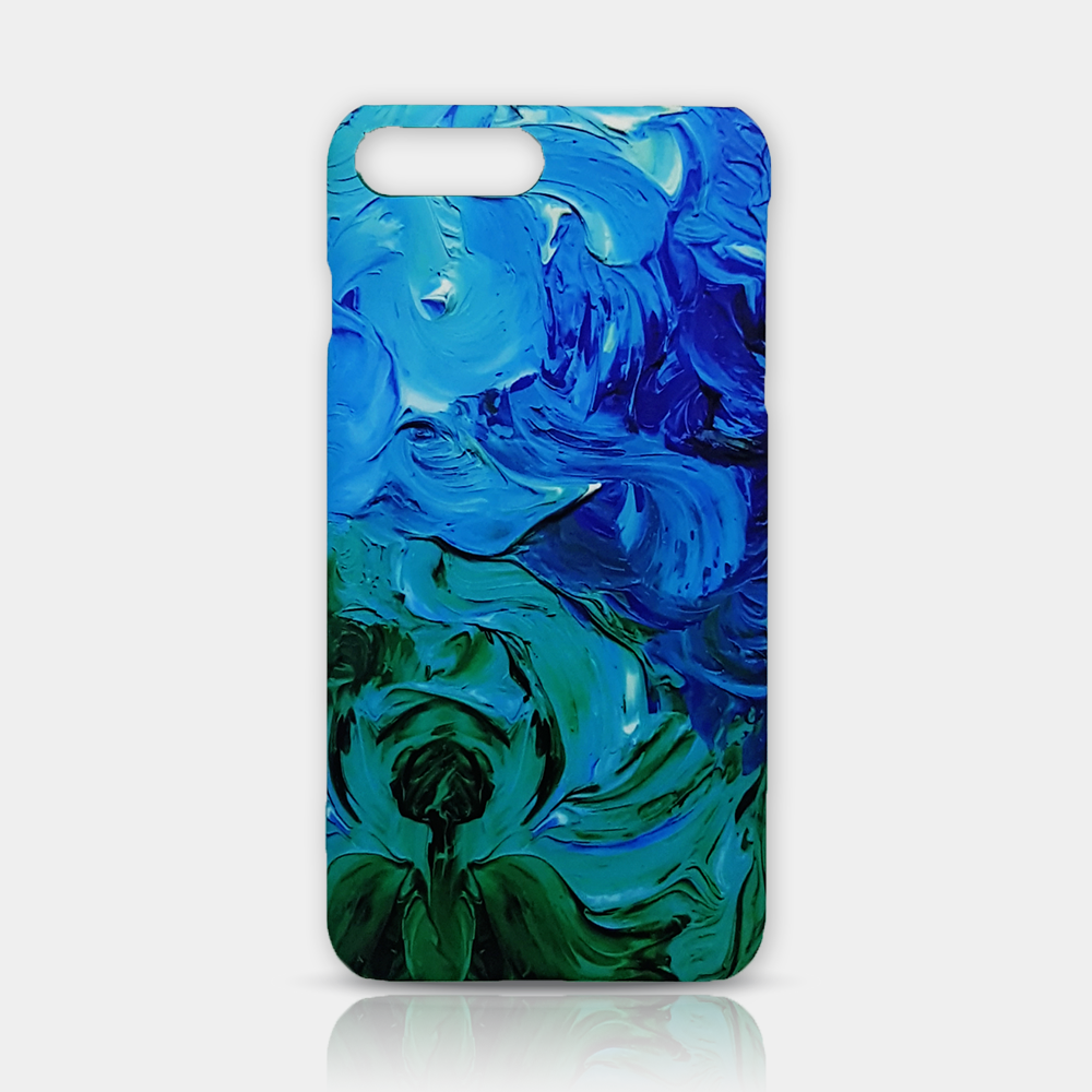 Abstract Flower Slim iPhone 7/8 Plus Case - iKaracase