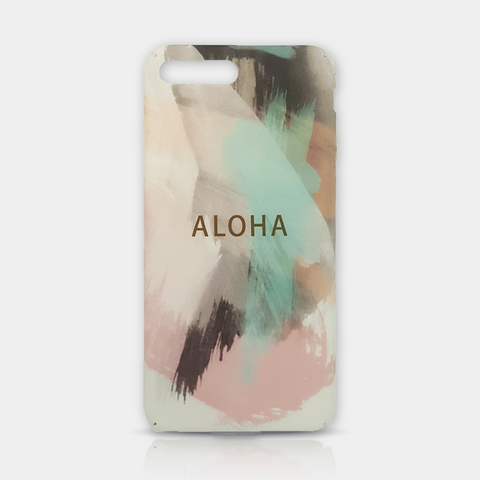 Aloha From Hawaii Slim iPhone Case 6/6S Plus - iKaracase