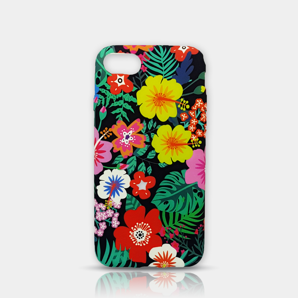 Colorful flowers Slim iPhone 7/8 Case - iKaracase