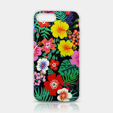 Colorful flowers Slim iPhone Case 7 Plus - iKaracase