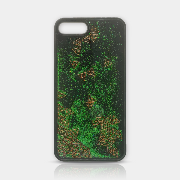 Green Quicksand Diamonds iPhone 7/8 Plus Case - iKaracase