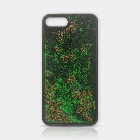 Green Quicksand Diamonds iPhone Case 7 Plus - iKaracase
